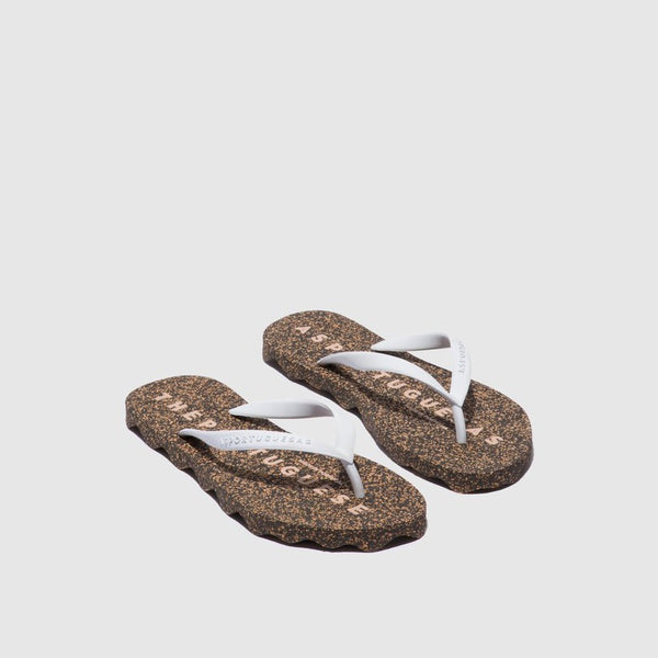Flip Flops Base| White & Black