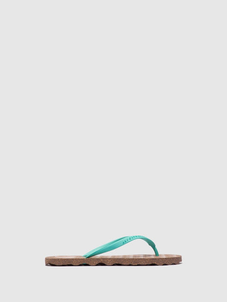 Flip Flops Turtle | Brown & Green