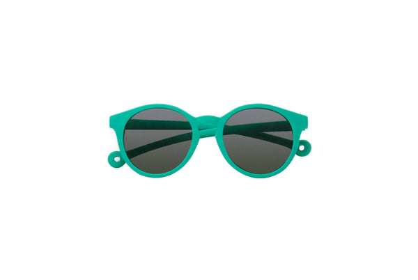 Eco Rubber Sunglasses KIDS | Tortuga Green (3-10 yo)