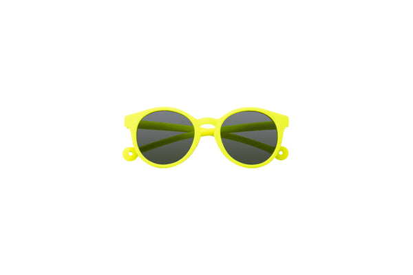 Eco Rubber Sunglasses KIDS | Tortuga Yellow (3-10 yo)