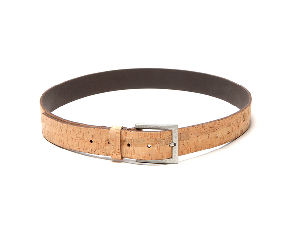 Casual Man Belt | Natural - Vegan Shoes Rutz