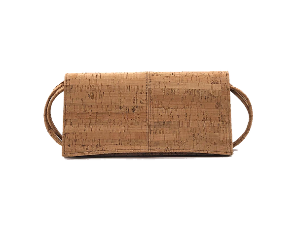 Vegan Clutch Bag | Natural - Vegan Shoes Rutz