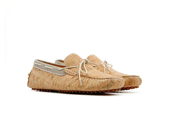 Vegan Mocassins | Natural & Organic Beige - Vegan Shoes Rutz