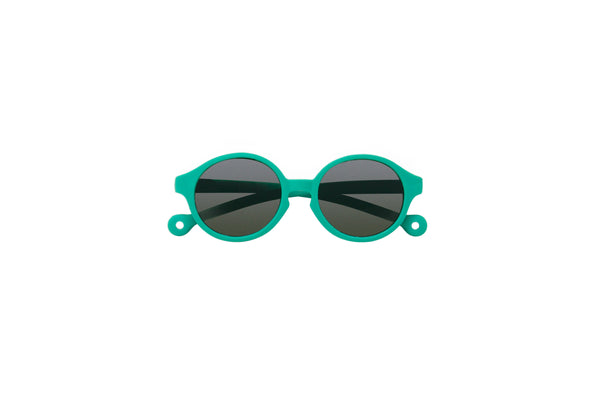 Eco Rubber Sunglasses KIDS | Ballena Green (0-3 yo)