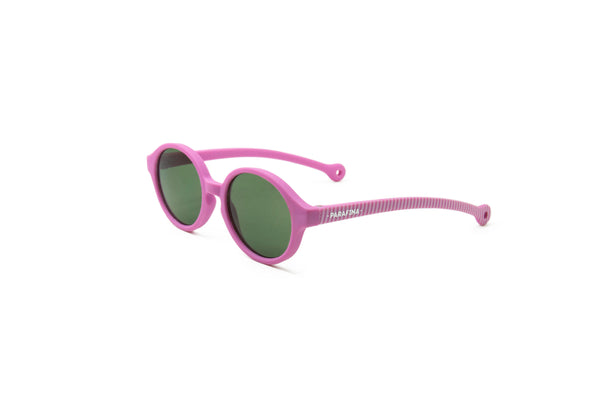 Eco Rubber Sunglasses KIDS | Ballena Pink (0-3 yo)