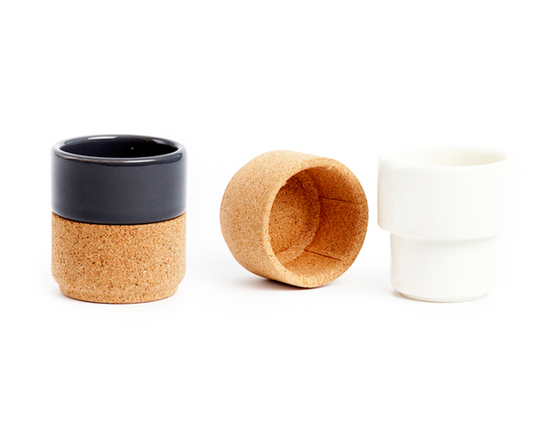 Coffee Cups (4pc.) <br> White