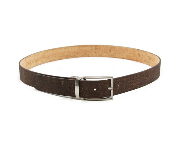 Reversible Belt | Natural & Browntresse - Vegan Shoes Rutz