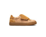 Kids Sneakers One Velcro | Natural & Mustard