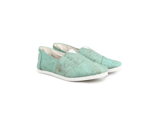 Espadrilles (Woman) <br> Mint - Vegan Shoes Rutz
