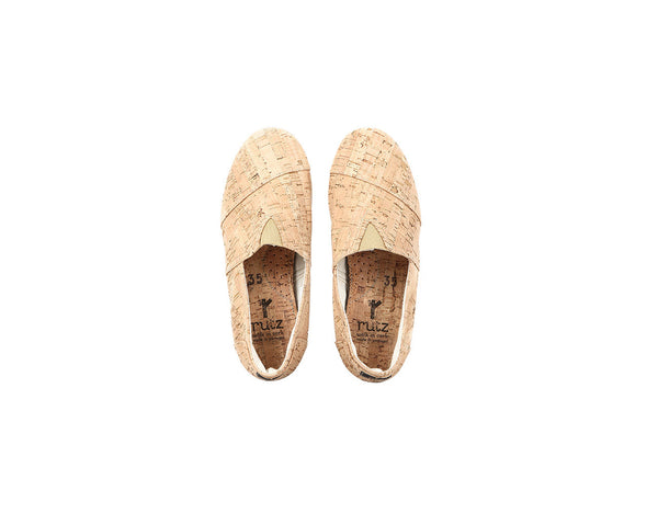 Vegan Espadrilles (Woman) | Natural - Vegan Shoes Rutz