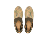 Vegan Slip On | Tropic Green & Green Elastic - Vegan Shoes Rutz