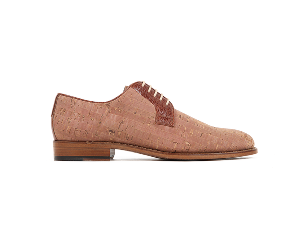 Goodyear Welted Classic Derby | Beige - Vegan Shoes Rutz