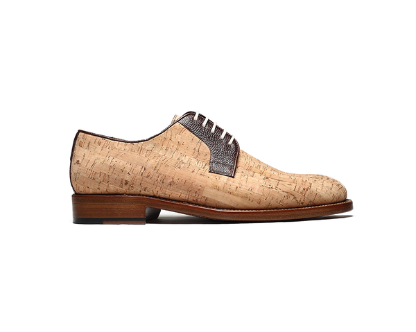 Classic Derby <br> Natural - Vegan Shoes Rutz