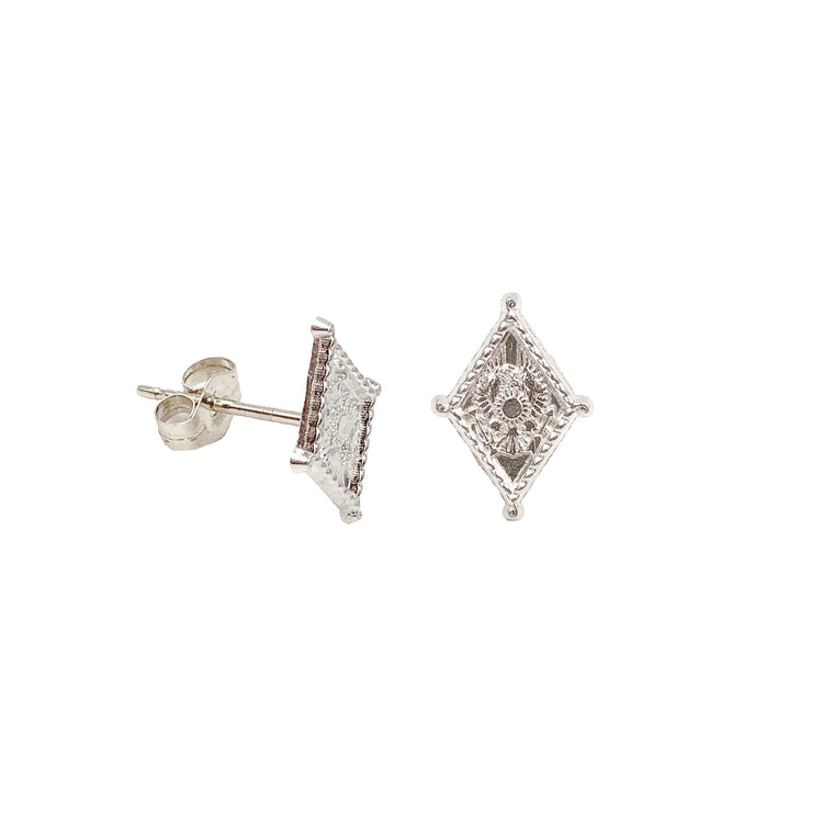Pi Beta Phi Crest Earrings