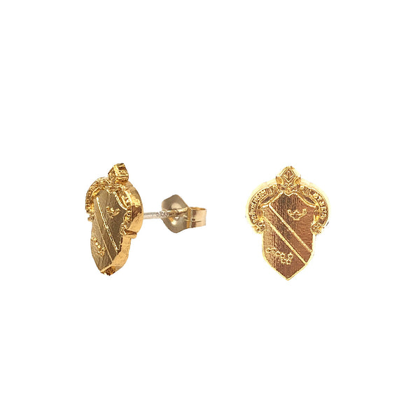 Alpha Phi Crest Earrings