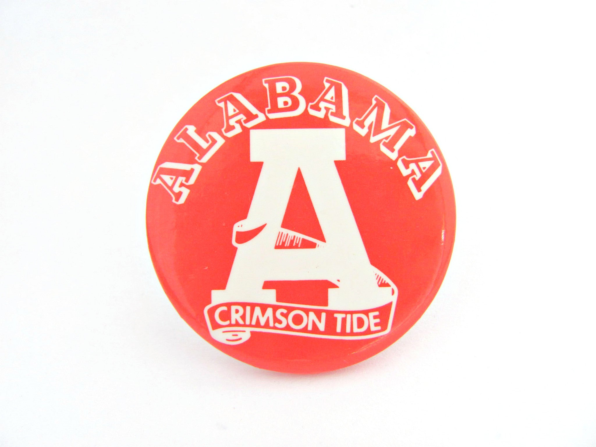 Vintage 1960's University of Alabama Pin Button