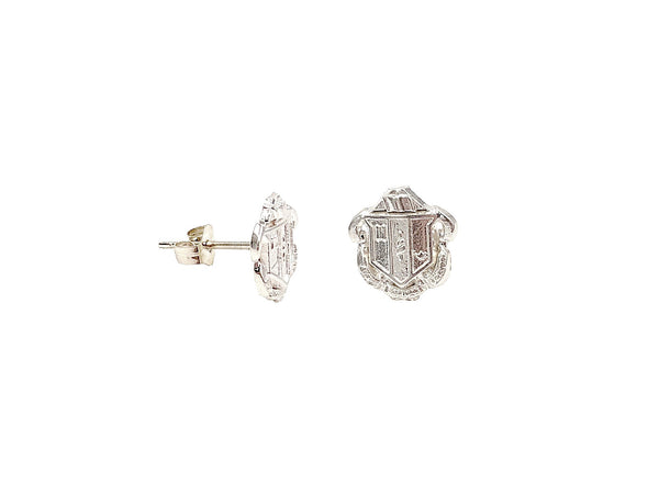 Delta Zeta Crest Earrings