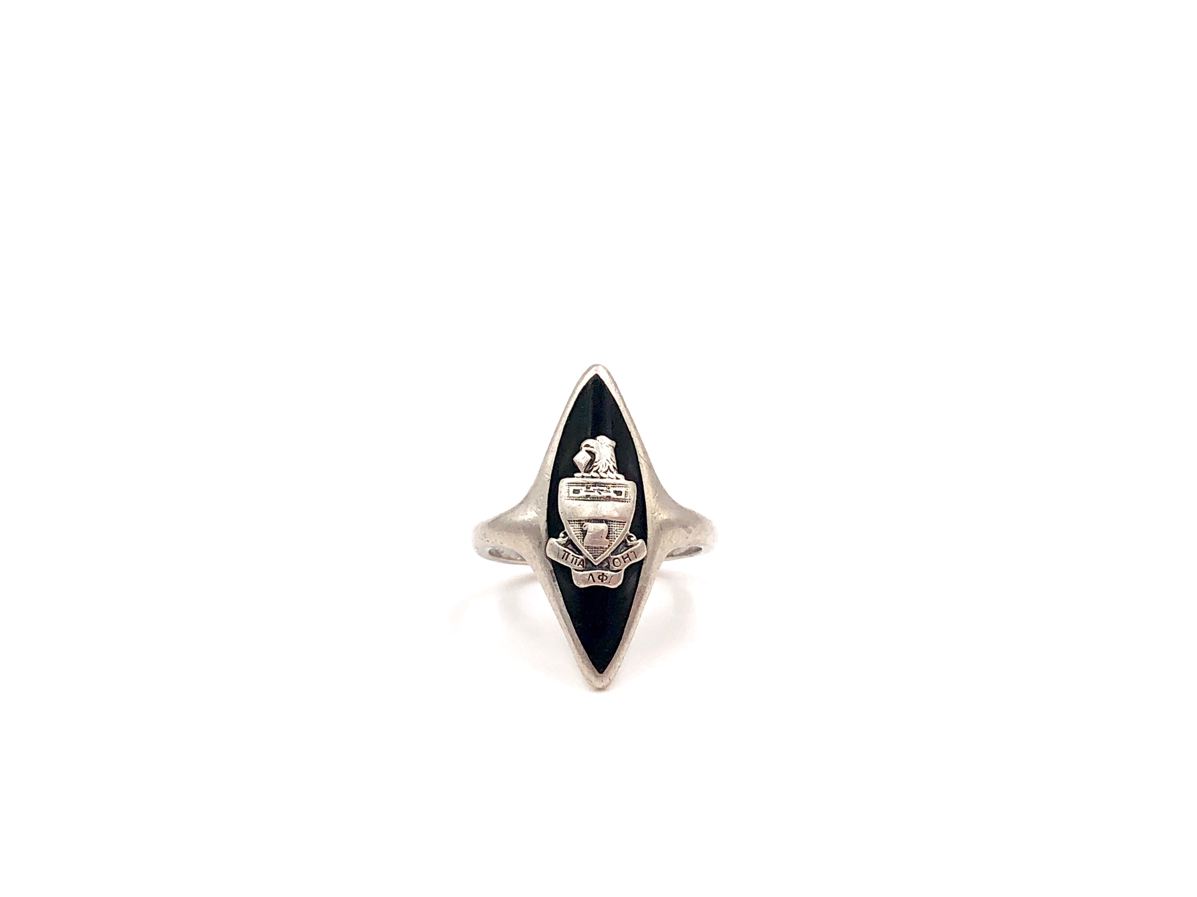 Vintage Kappa Alpha Theta Marquise Cocktail Ring