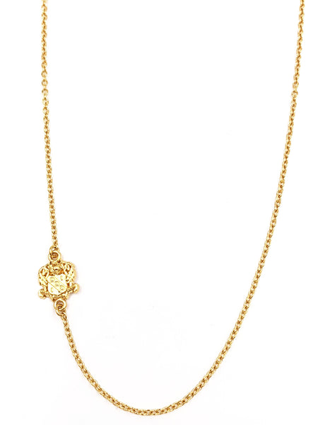 Alpha Gamma Delta Side Crest Necklace