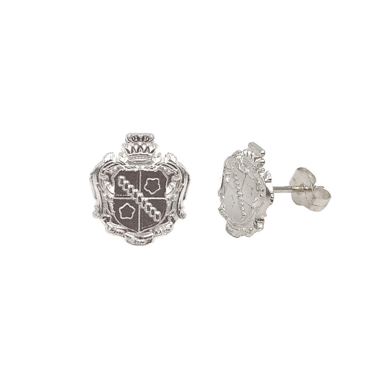 Zeta Tau Alpha Crest Earrings