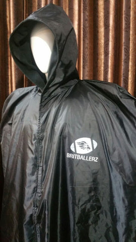Sideline Cape (Waterproof, Over Pads)