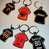 Keyrings - Jersey & Football Custom