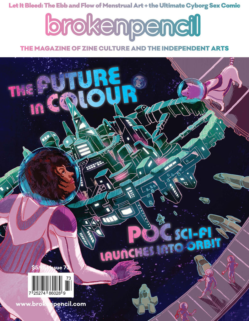 Issue 73: The Future in Colour -- POC sci fi writing takes off!