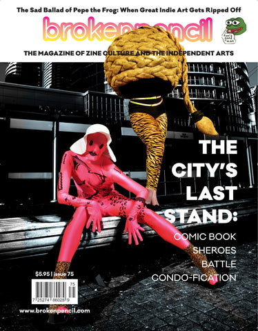 Issue 75: The City's Last Stand: Comic Book Sheroes Battle Condification!
