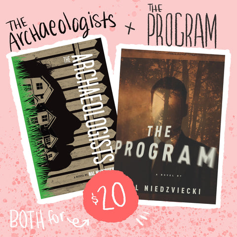 Book Bundle - The Archaeologists + The Program