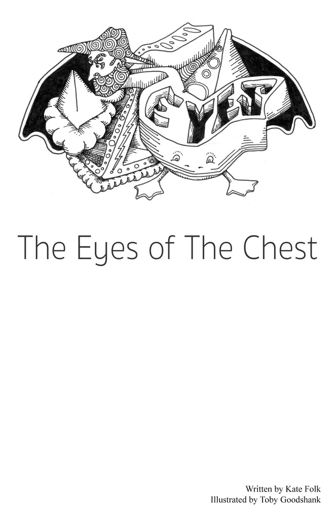 The Eyes of the Chest - BP Zine Awards Nominees 2018 litzine category