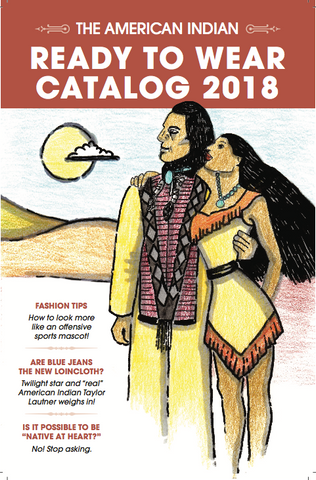 The American Indian Ready To Wear Catalog 2018  *BP Zine Awards 2018 Nominee*