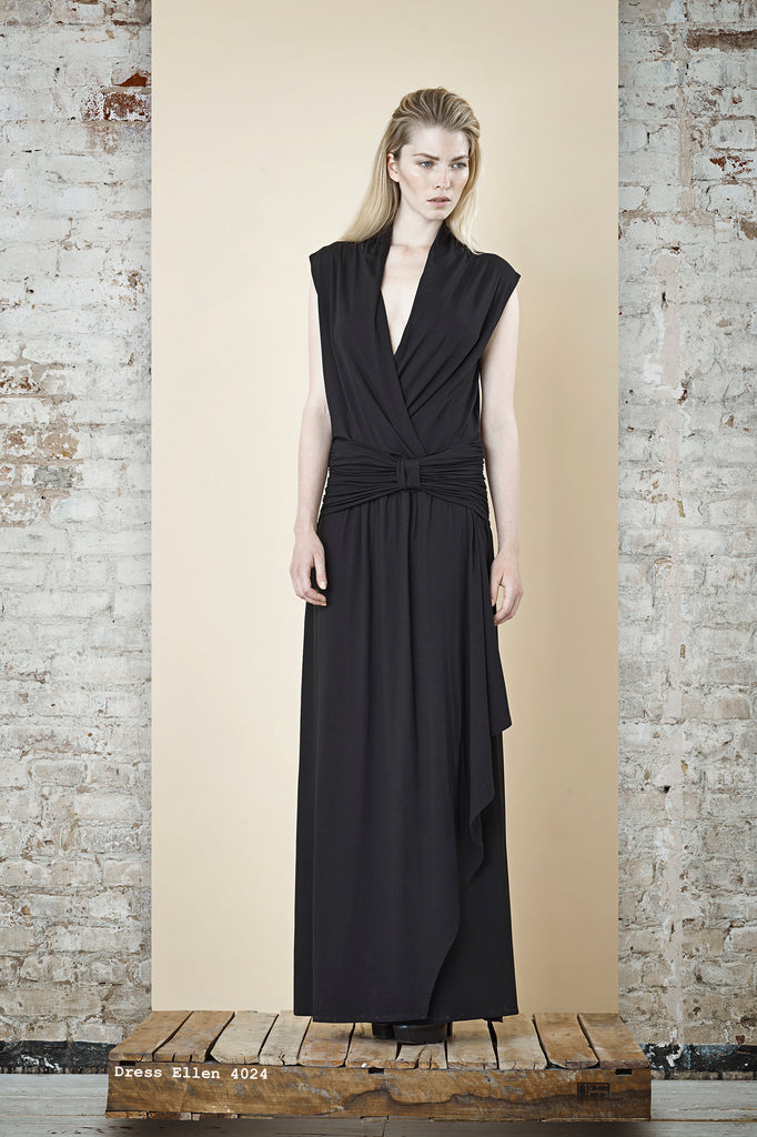 NORDENFELDT Maxi dress Ellen black, extra long
