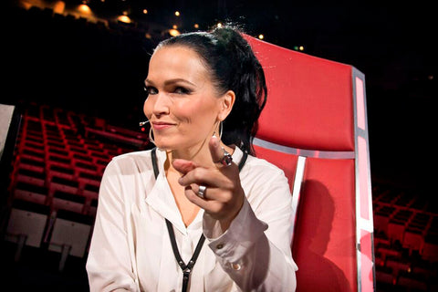 NORDENFELDT leather chain Lahja, worn by Tarja Turunen