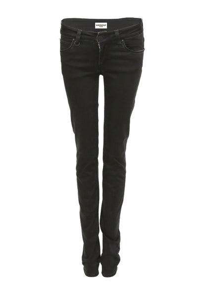 NORDENFELDT Paris Velvet Black, skinny jeans in black, slim fit, made of power stretch denim