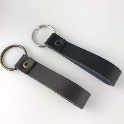 Custom Leather Keychain