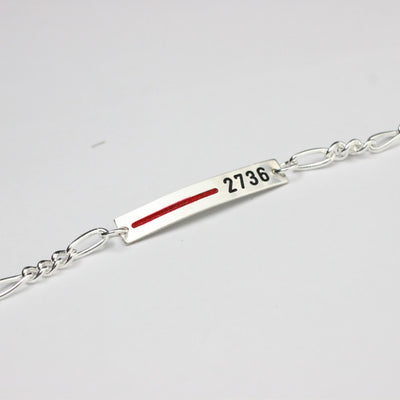Thin Red Line Women's Bracelet