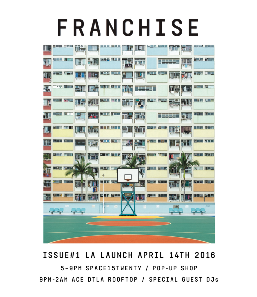 FRANCHISE April 14 Launch Events in LA