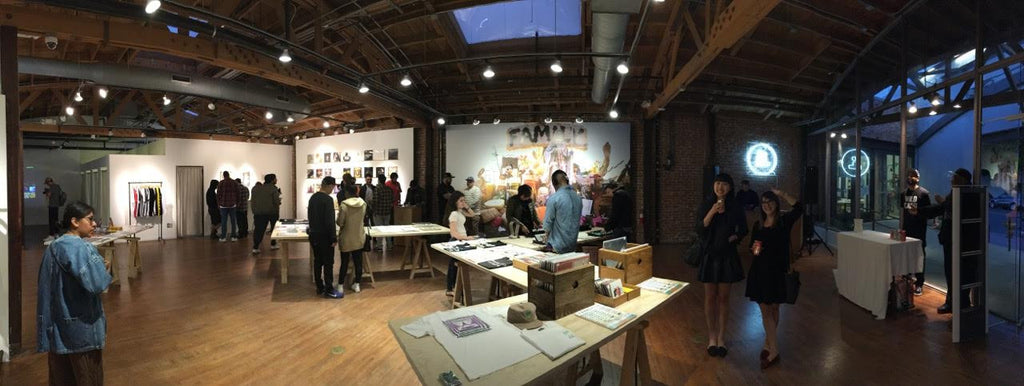 FRANCHISE Magazine Basketball Pop-up at Space15Twenty