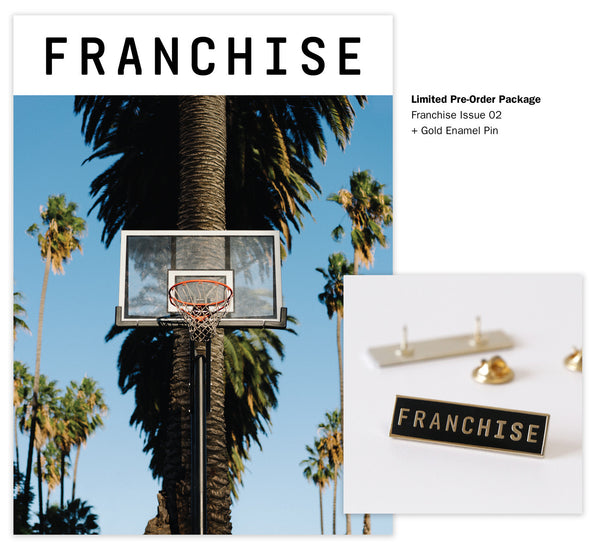 Limited: Franchise Issue 02 + Gold Enamel Pin