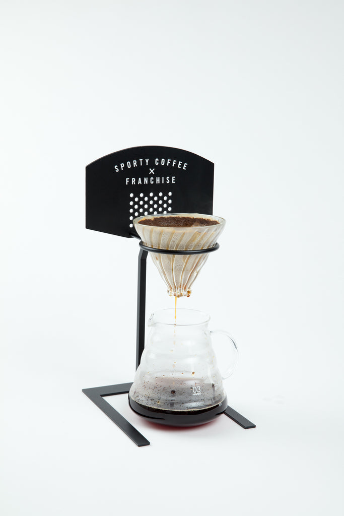 Sporty Coffee x Franchise Coffee Pour Over Stand
