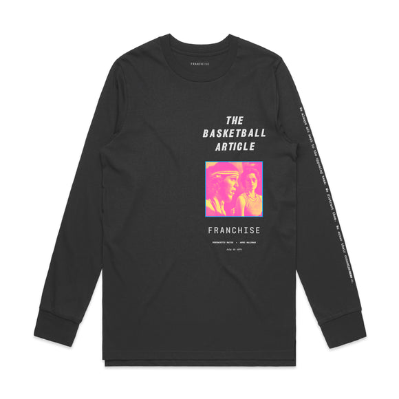 THE BASKETBALL ARTICLE LONG SLEEVE SHIRT (PRE-ORDER*)