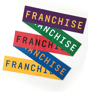 FRANCHISE Sticker Pack