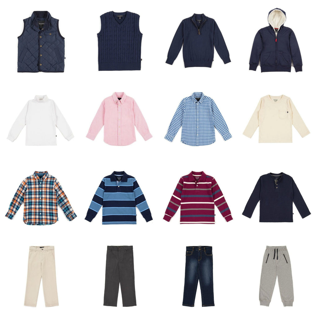 Back To School: Boys Capsule Collection