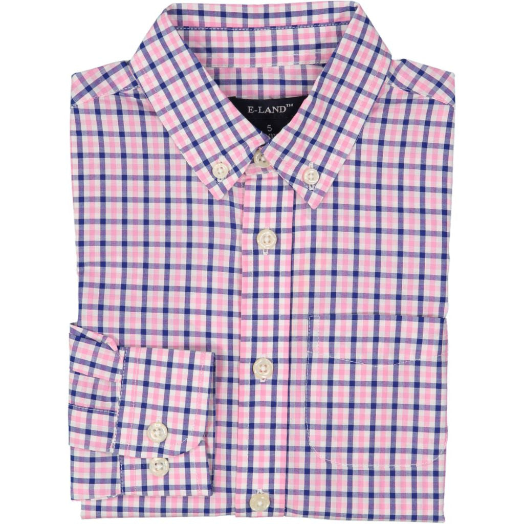 Small Check Shirt - Long Sleeve