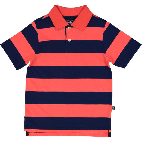 Stripe Polo - Short Sleeve