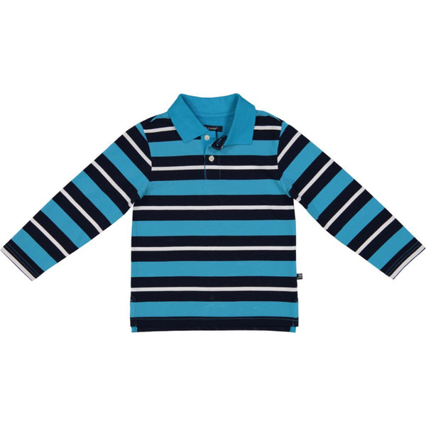 Stripe Polo L/S