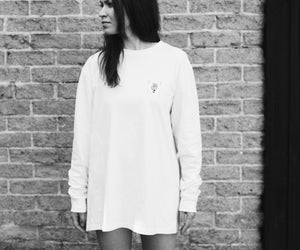 WWOOLLFF Hand | White Long Sleeve