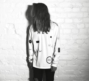 HEL N° 13 | White Long Sleeve