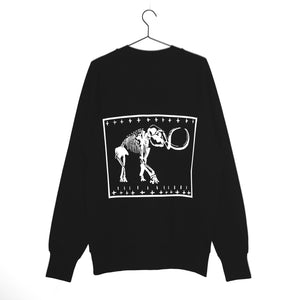 Mammoth | Oversized Black Sweatshirt
