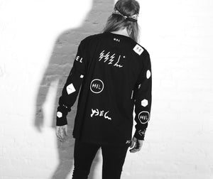 HEL N° 12 | Black Long Sleeve